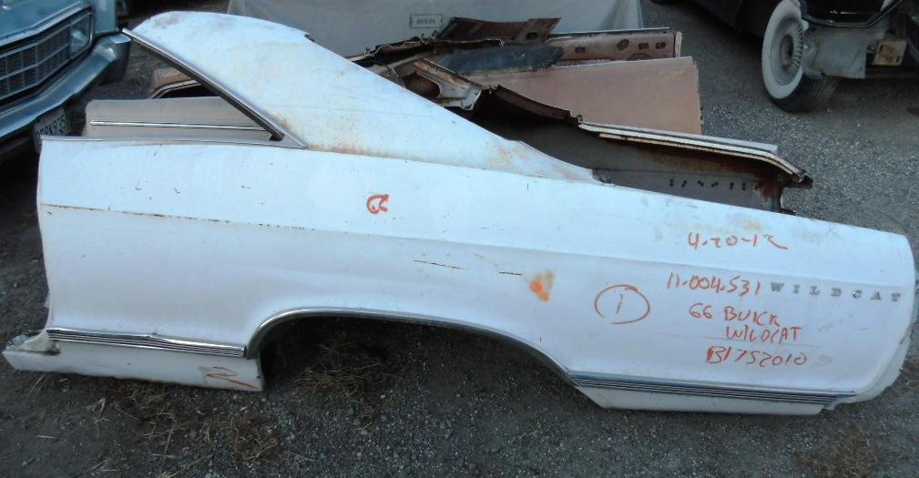 1966 Buick Wildcat Left Quarter Panel Larry Camuso S