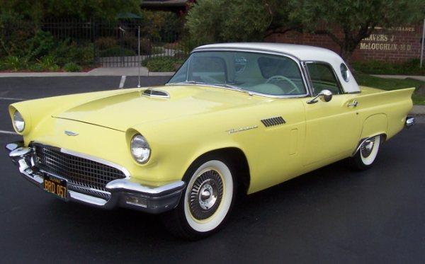 1957 Ford Thunderbird Larry Camuso S West Coast Classics