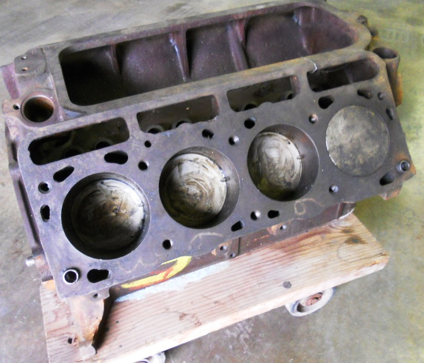 1956-1957 Lincoln engine short block | Larry Camuso's West