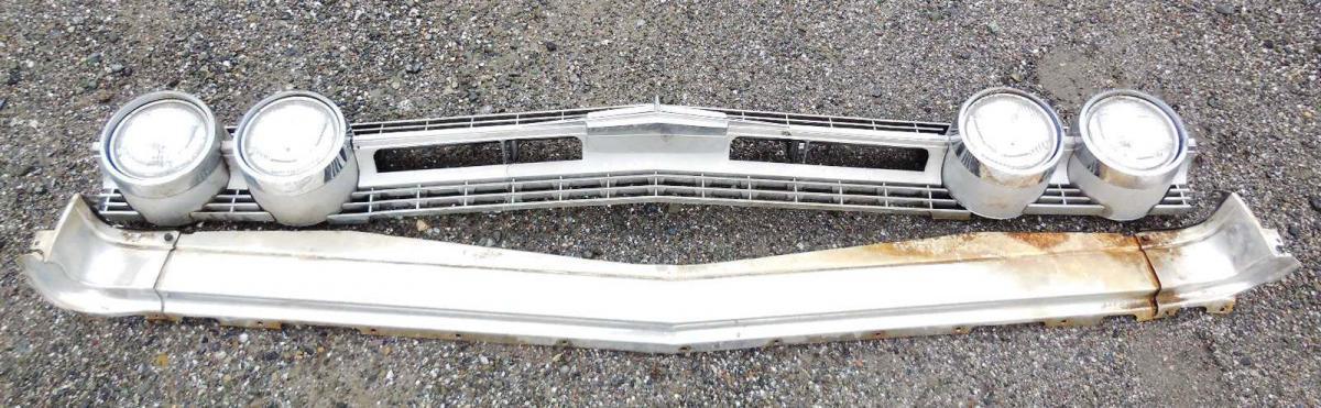1964 Oldsmobile 88 grille | Larry Camuso's West Coast