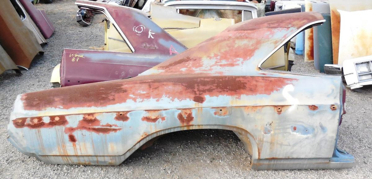 1966 Buick Skylark Parts 1966 1967 Buick Skylark Right