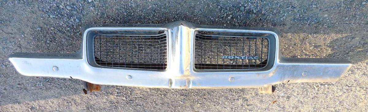 1970 Pontiac Lemans Front Bumper Larry Camuso S West