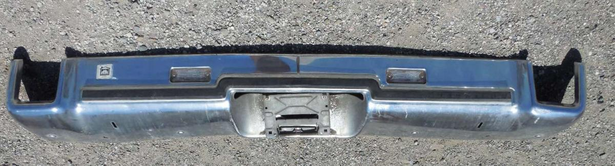 1973 Oldsmobile Cutlass Rear Bumper Larry Camuso S West