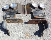 1962 Oldsmobile F85 headlamp panels, shrouds