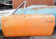 1969 Dodge Charger left door