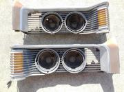 1971 Mercury Cougar headlamp assembly
